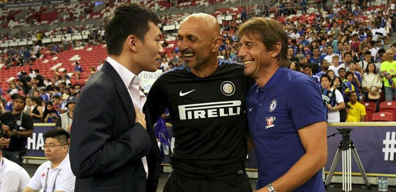 Antonio Conte, Inter vicina
